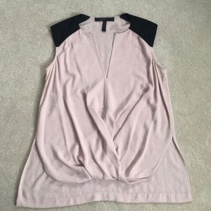BCBG blush blouse